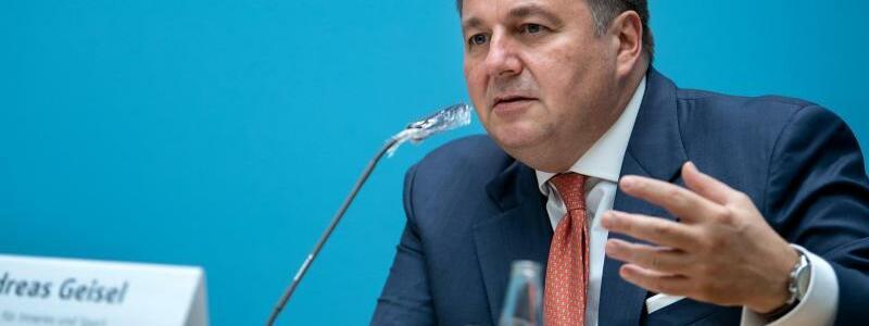 Andreas Geisel - Foto: Bernd von Jutrczenka/dpa
