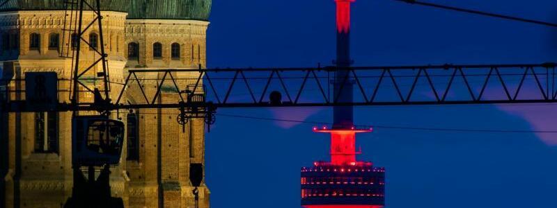 Aktion Night of Light - München - Foto: Peter Kneffel/dpa