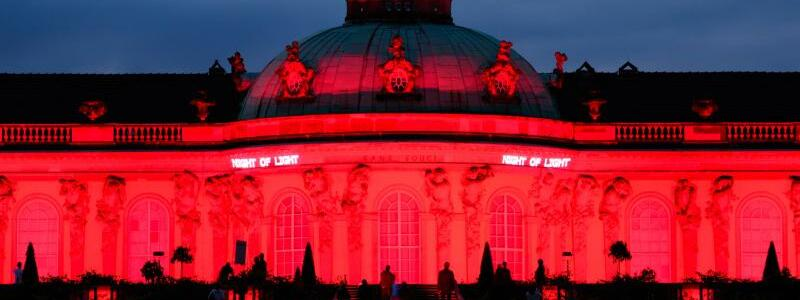 Aktion «Night of Light» - Potsdam - Foto: Soeren Stache/dpa-Zentralbild/dpa