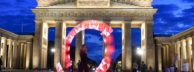 Aktion «Night of Light» - Berlin - Foto: Jens Kalaene/dpa-Zentralbild/dpa