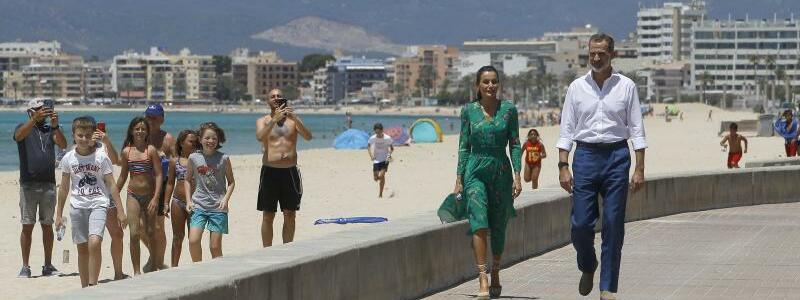 Spanisches Königspaar - Foto: Isaac Buj/EUROPA PRESS/dpa