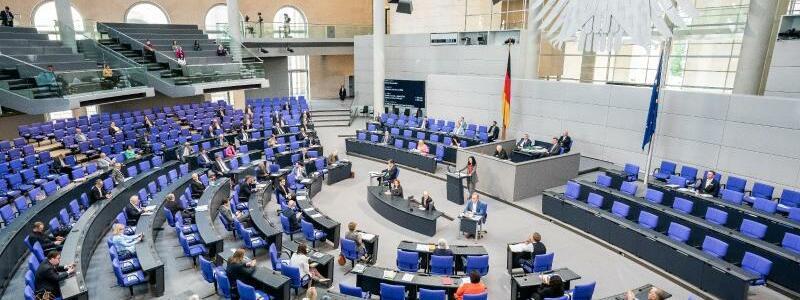 Bundestag - Foto: Michael Kappeler/dpa