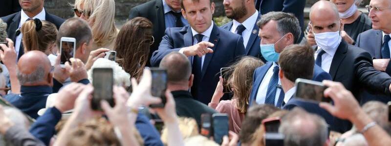 Emmanuel Macron - Foto: Ludovic Marin/AFP/dpa