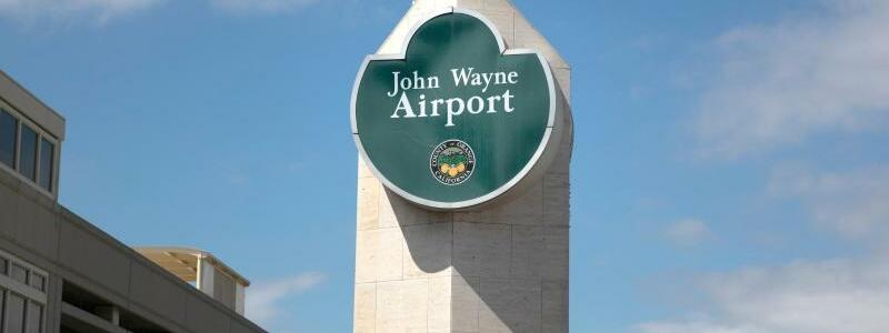 John-Wayne-Flughafen - Foto: Jae C. Hong/AP/dpa