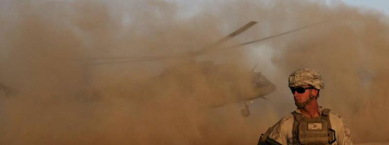 US-Militär in Afghanistan - Foto: Massoud Hossaini/AP/dpa
