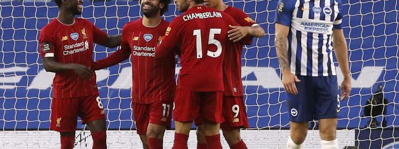 Brighton & Hove Albion - FC Liverpool - Foto: Paul Childs/Nmc Pool/PA Wire/dpa