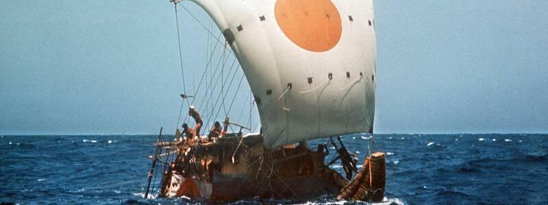 RA II- Thor Heyerdahl - Foto: UPI/dpa