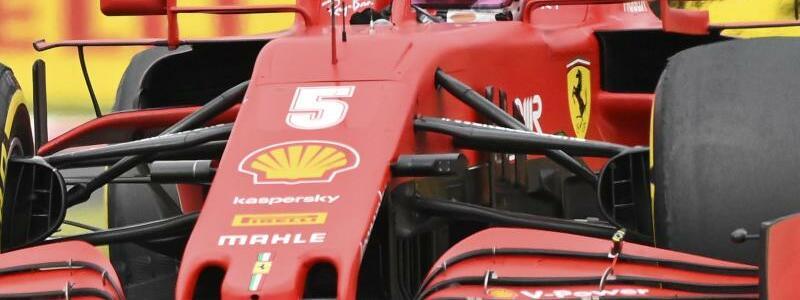 Sebastian Vettel - Foto: Joe Klamar/Pool AFP/AP/dpa