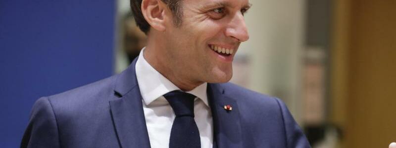 Zustimmung aus Frankreich - Foto: Stephanie Lecocq/EPA Pool/AP/dpa