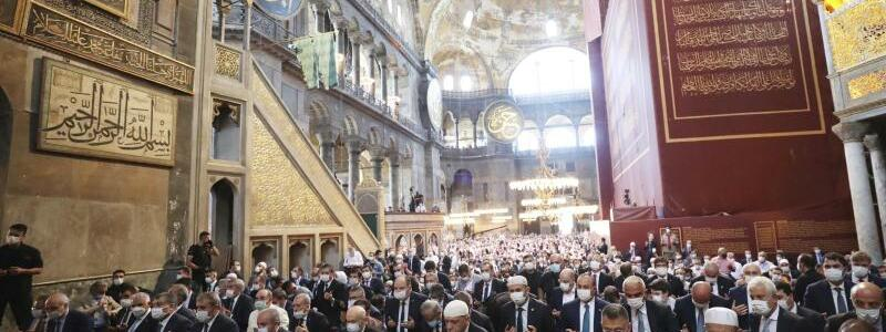 Hagia Sophia - Foto: Uncredited/Turkish Presidency/AP/dpa