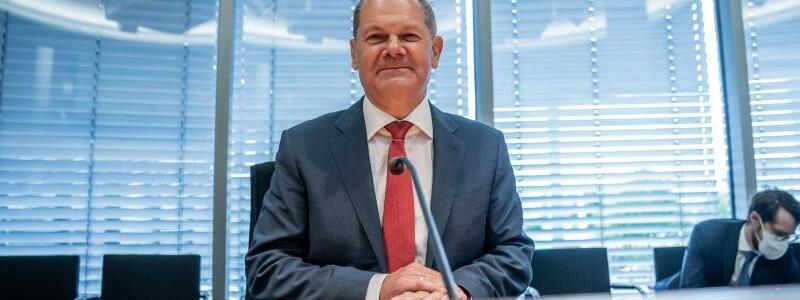 Scholz im Finanzausschuss zum Wirecard-Skandal - Foto: Michael Kappeler/dpa