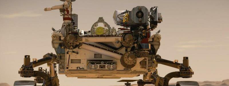 «Perseverance»-Rover der Nasa - Foto: NASA/JPL-Caltech/dpa