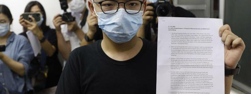 Aktivisten von Wahl in Hongkong ausgeschlossen - Foto: Kin Cheung/AP/