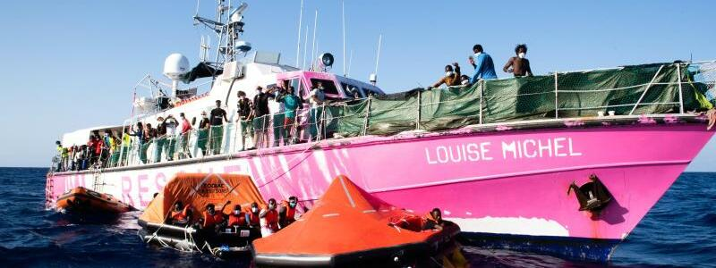 Fl?chtlingsrettung im Mittelmeer - Foto: Chris Grodotzki/Sea-Watch.org/dpa
