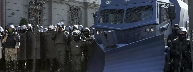 Blockade - Foto: ---/AP/dpa
