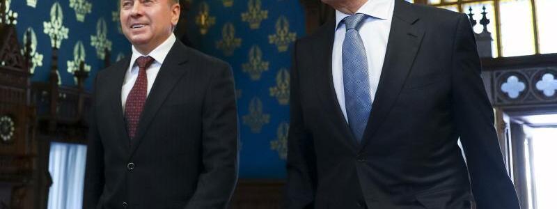 Treffen der Au?enminister - Foto: -/Russian Foreign Ministry Press Service/AP/dpa