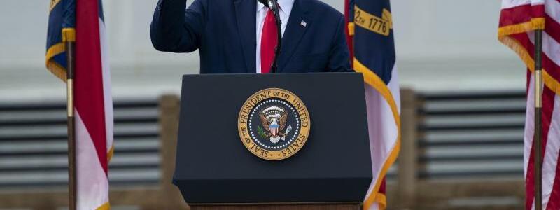US-Pr?sident Trump - Foto: Evan Vucci/AP/dpa