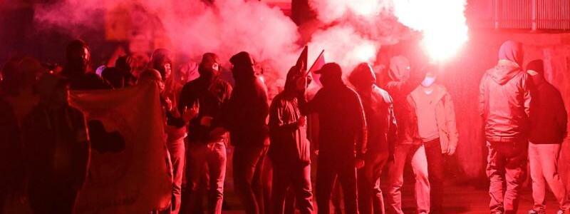 Demonstration in Leipzig - Foto: Hendrik Schmidt/dpa-Zentralbild/dpa