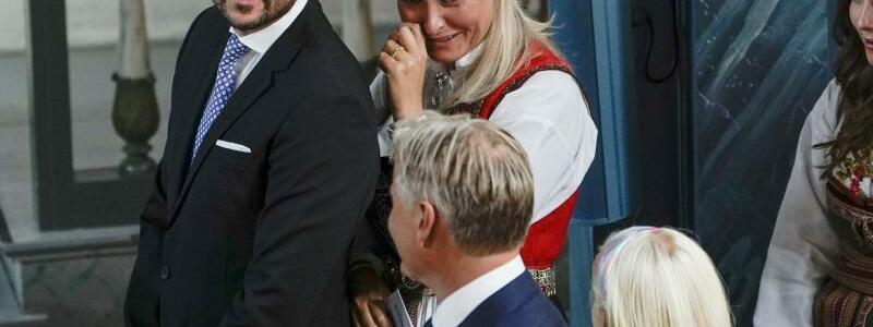 Norwegischer Prinz feiert Konfirmation - Foto: Stian Lysberg Solum/NTB-Scanpix/dpa