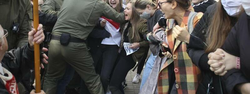 Proteste in Belarus - Foto: -/TUT.BY/AP/dpa