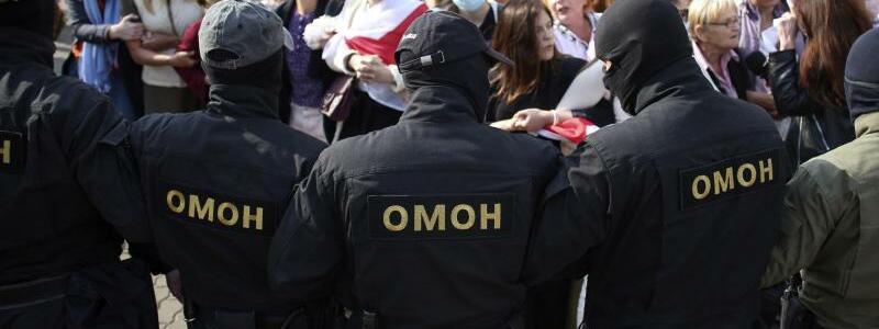 Proteste in Belarus - Foto: -/Tut.by via AP/dpa