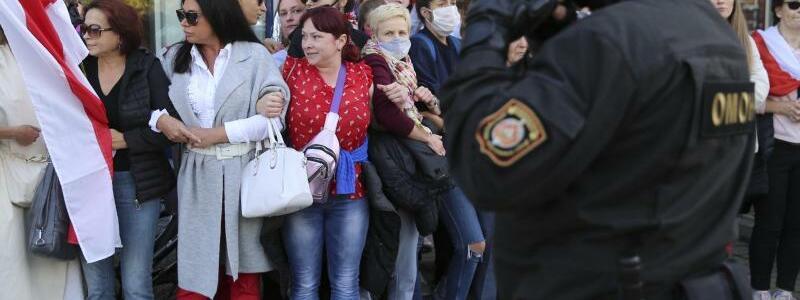 Proteste in Belarus - Foto: Uncredited/TUT.by/dpa
