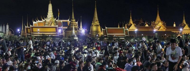Proteste in Thailand - Foto: Sakchai Lalit/A