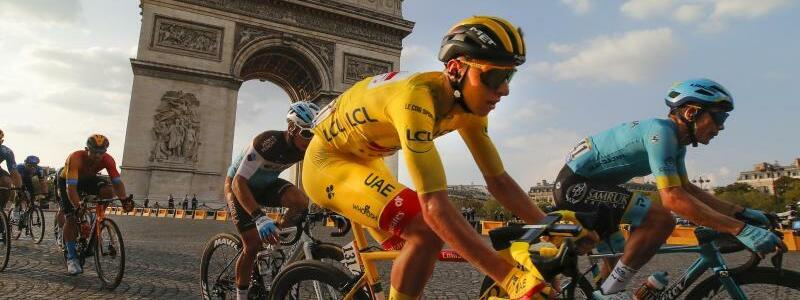 Gesamtsieger der Tour de France - Foto: Christophe Ena/AP/dpa