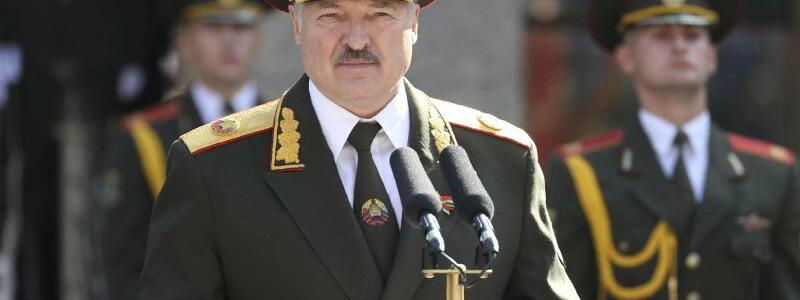 Alexander Lukaschenko - Foto: Maxim Guchek/BelTA/dpa