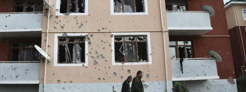 Konflikt in Berg-Karabach - Foto: Aziz Karimov/AP/dpa