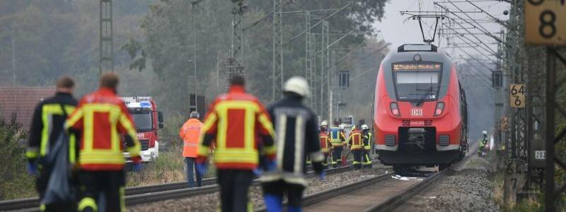 Bahnunfall in Bayern - Foto: Matthias Balk/dpa