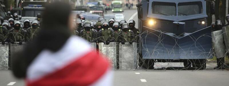 Proteste in Belarus - Foto: Uncredited/AP/dpa