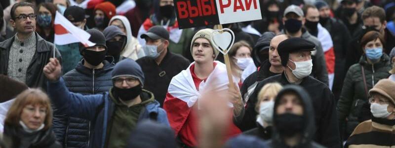 Protest - Foto: Uncredited/AP/dpa