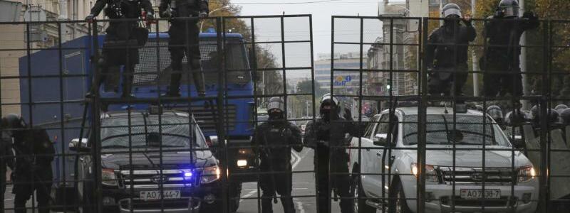 Einsatz in Minsk - Foto: Uncredited/AP/dpa