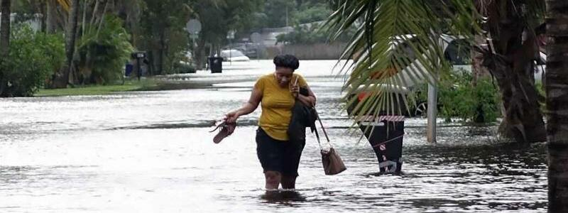 Hochwasser - Foto: Joe Cavaretta/South Florida Sun-Sentinel/AP/dpa