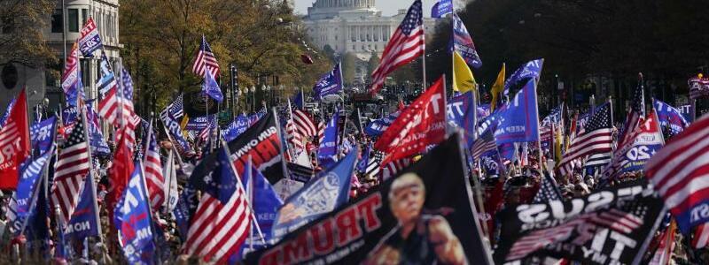 Nach der Pr?sidentschaftswahl in den USA - Proteste - Foto: Julio Cortez/AP/dpa