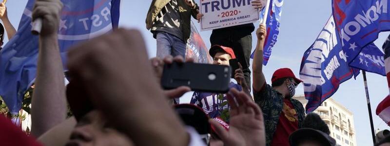 Nach der Pr?sidentschaftswahl in den USA - Proteste - Foto: Jacquelyn Martin/AP/dpa