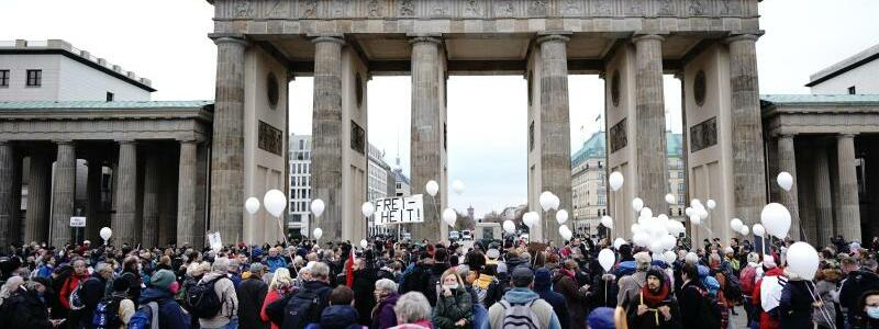 Demonstration in Berlin - Foto: Kay Nietfeld/dpa