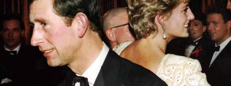 Charles + Diana - Foto: London Express/dpa