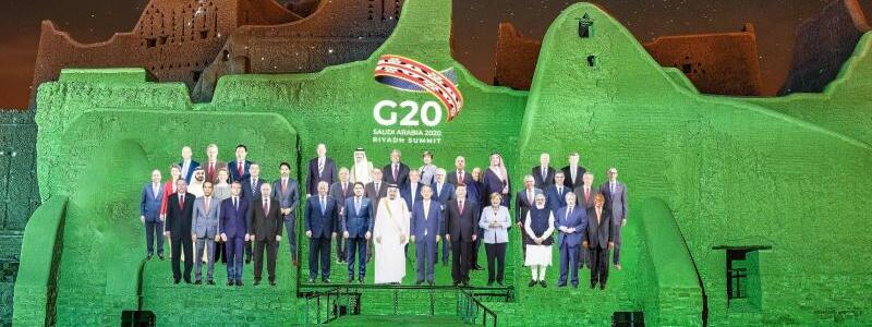 Vor dem G20-Gipfel - Foto: Meshari-Alharbi/DGDA/dpa
