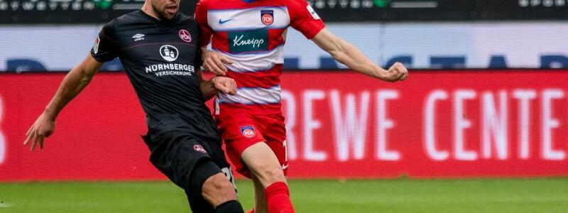 1. FC Heidenheim - 1. FC N?rnberg - Foto: Stefan Puchner/dpa
