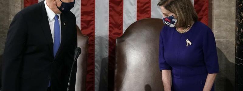 Zertifizierung der US-Wahlergebnisse - Foto: J. Scott Applewhite/AP/dpa