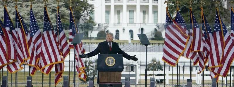 Trump-Rede - Foto: Jacquelyn Martin/AP/dpa