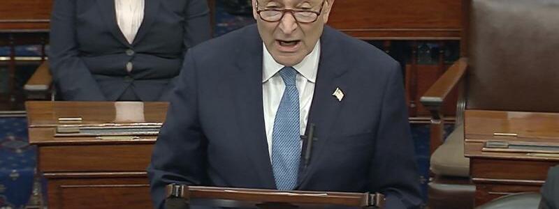 Chuck Schumer - Foto: Uncredited/Senate Television/AP/dpa