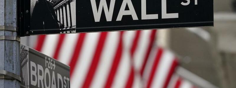 Wall Street - Foto: Seth Wenig/AP/dpa