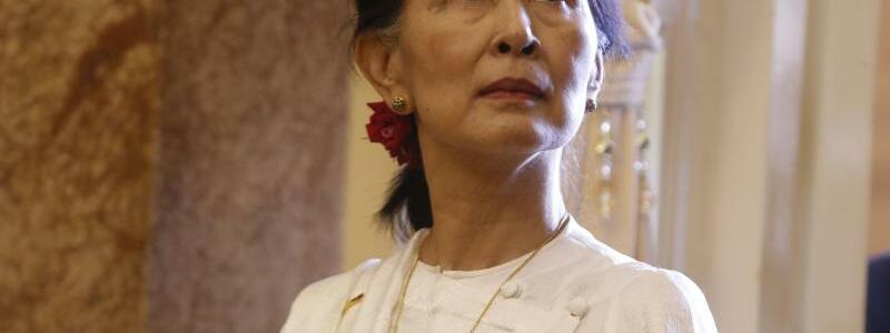 Aung San Suu Kyi - Foto: Kham/Pool Reuters/AP/dpa