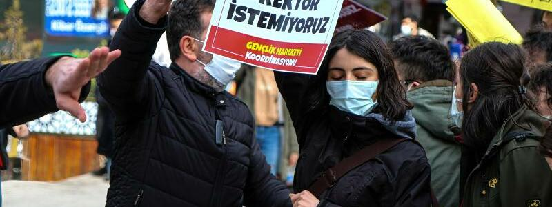 Proteste in Ankara - Foto: Tunahan Turhan/SOPA Images via ZUMA Wire/dpa