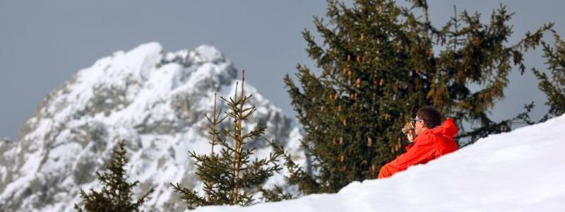 Winterwetter in Bayern - Foto: Karl-Josef Hildenbrand/dpa