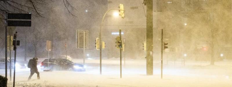 Schneegest?ber - Foto: Marcel Kusch/dpa