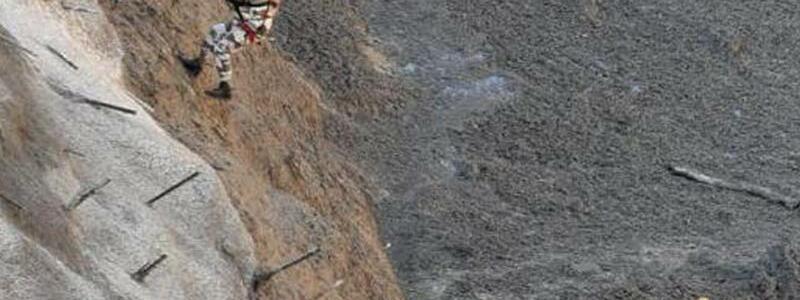 Rettungskr?fte - Foto: Uncredited/Indo Tibetan Border Police/Ap/dpa